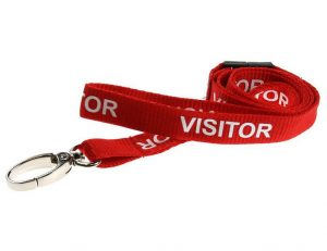 Give your customers and visitors a lanyard