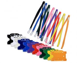 Lanyards are available in many models and colors